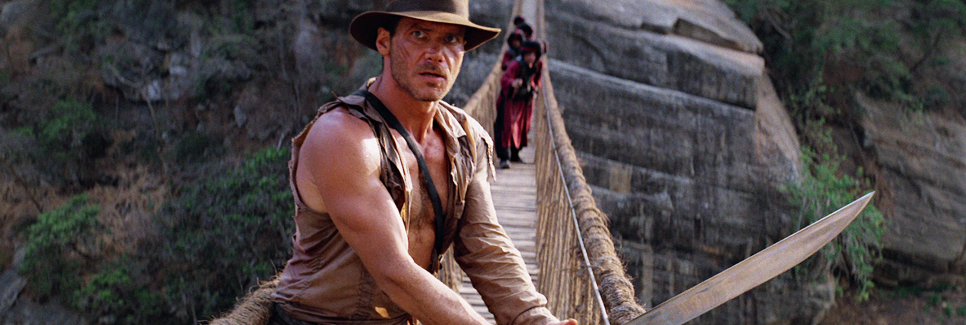 Harrison Ford as Indiana Jones , Temple Of Doom (1984)