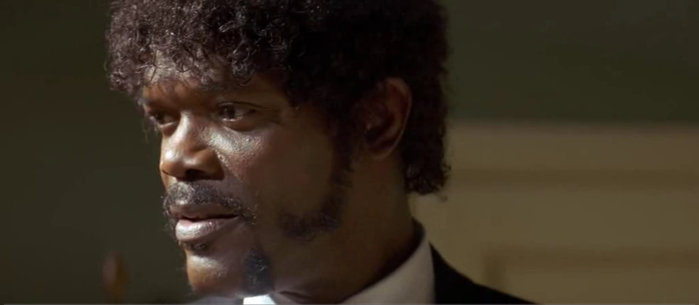 Samuel L. Jackson in Pulp Fiction (1994)
