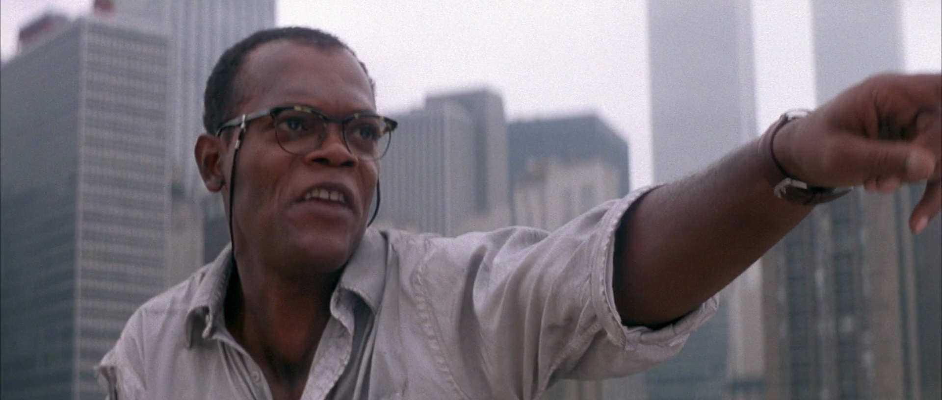 Samuel L. Jackson as 'Zeus' in Die Hard With A Vengeance (1995)