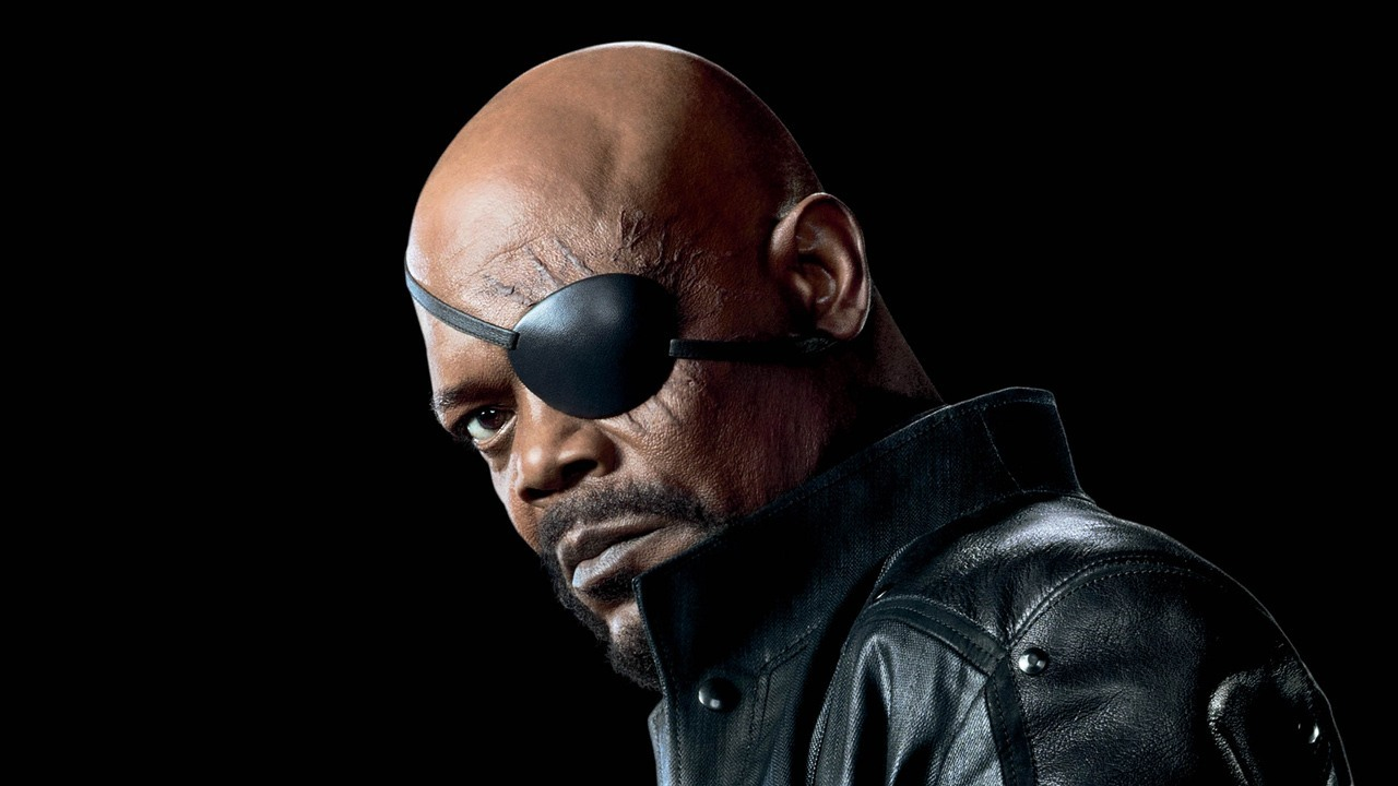 Samuel L. Jackson as 'Nick Fury' in Avengers Assemble, (2015).