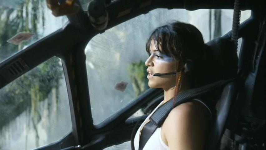 Michelle Rodriguez in James Camerson' AVATAR (2009). Twentieth Century Fox Film Corporation