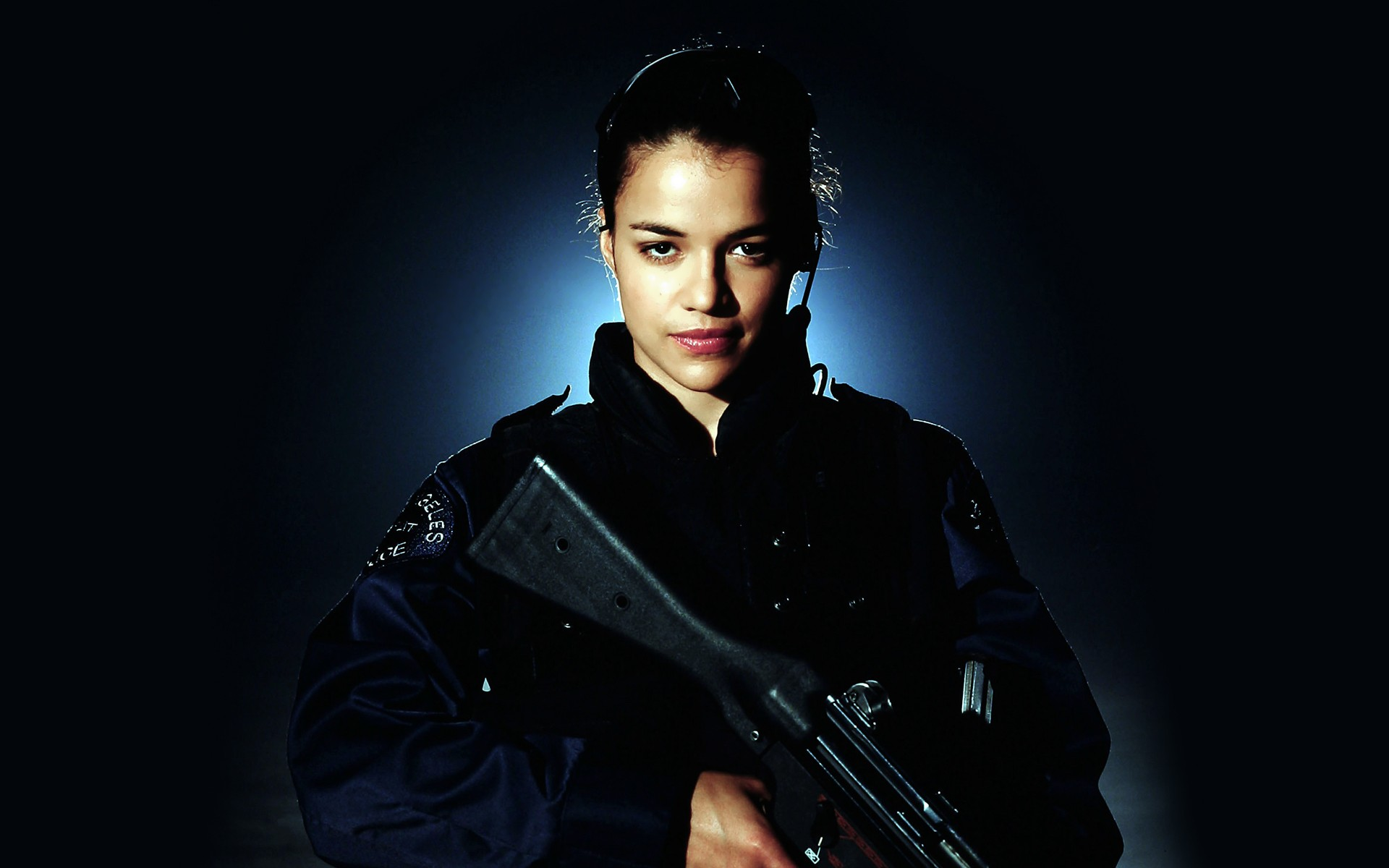 Michelle Rodriguez Stars In SWAT 2003 Columbia Pictures Corporation