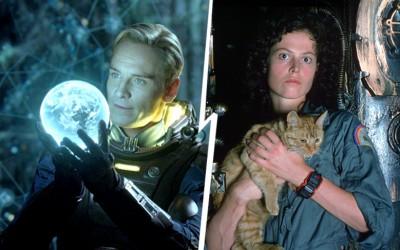 PROMETHEUS (2012) versus ALIEN (1979)