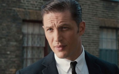 Tom Hardy stars as Reggie Kray in LEGEND (2015)