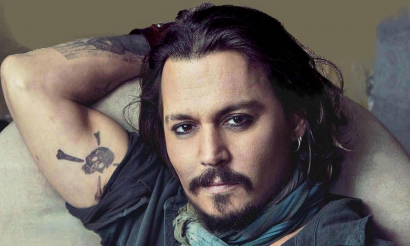 Johnny Depp in a promo still.