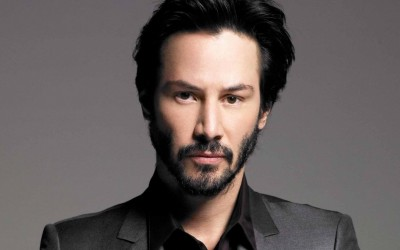 Keanu Reeves in a promo still.