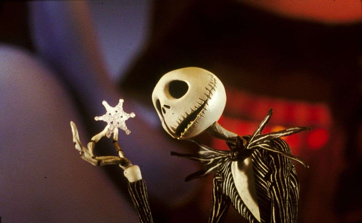 'Jack Skellington' in THE NIGHTMARE BEFORE CHRISTMAS (1993). Touchstone Pictures.