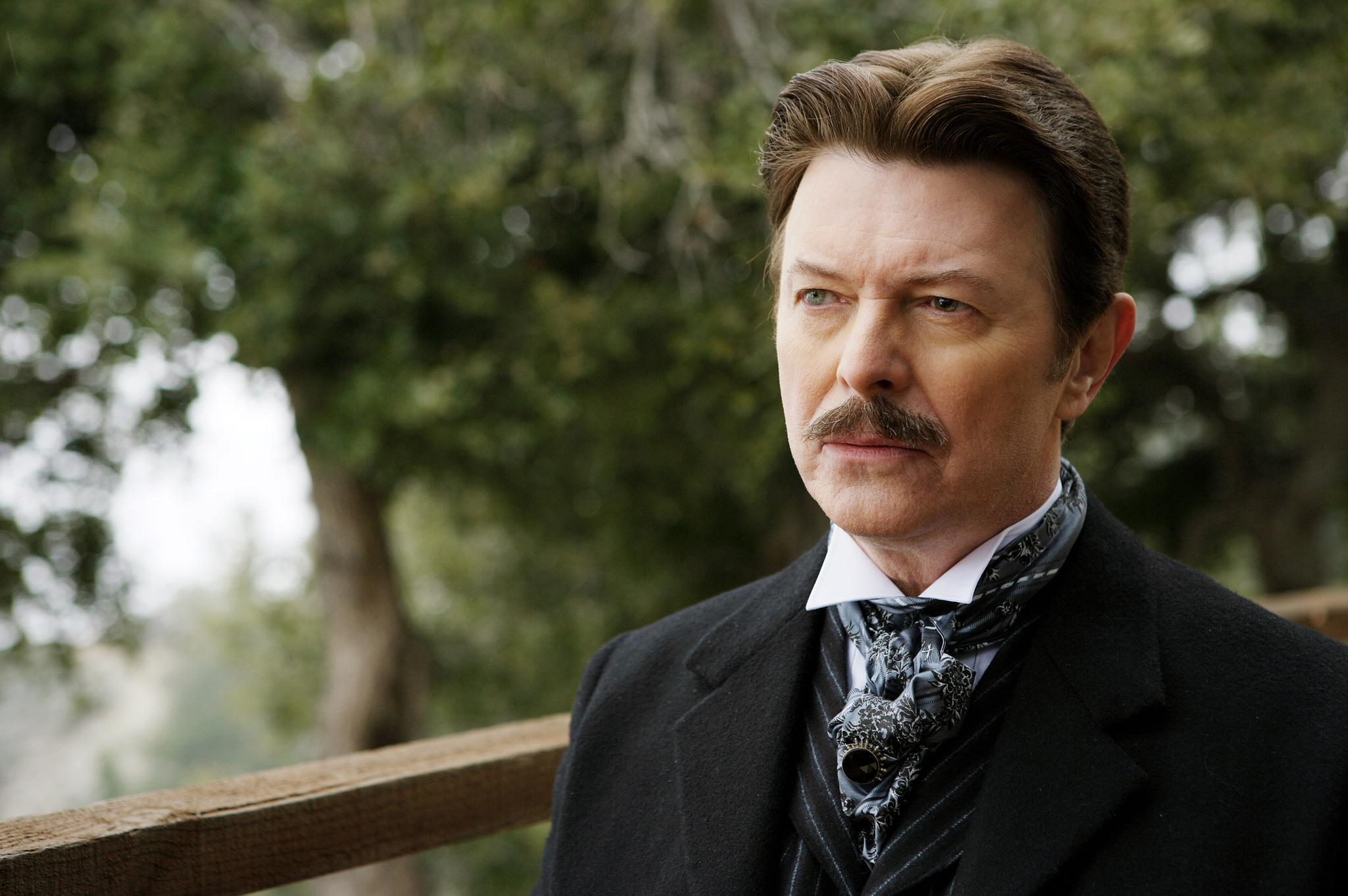 David Bowie stars as Nikola Tesla in THE PRESTIGE (2006). Buena Vista Pictures