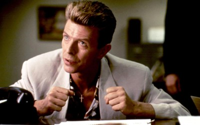 David Bowie in TWIN PEAKS FIRE WALK WITH ME (1992). Photo: Moviestore Collection/REX
