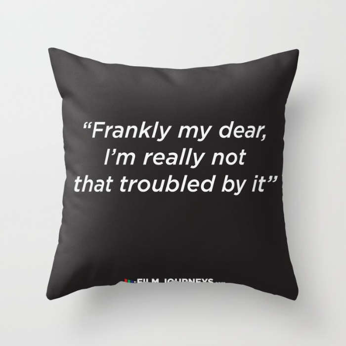 Film Journeys Misquotes Pillow Product