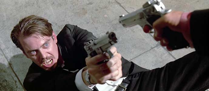 Steve Buscemi in RESERVOIR DOGS (1992), © Dog Eat Dog Productions