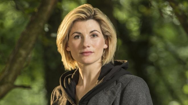 Jodie Whittaker as Doctor Who. © BBC