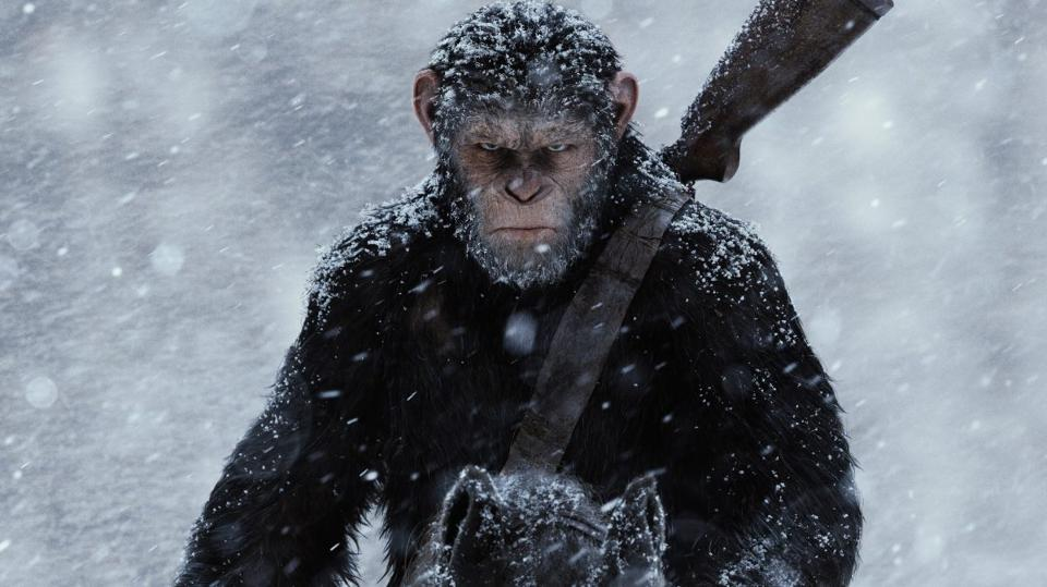 Andy Serkis as Caesar in WAR FOR THE PLANET OF THE APES (2017) © Twentieth Century Fox
