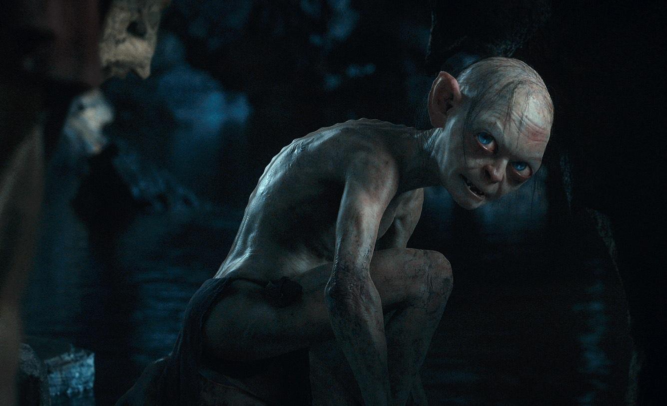 Andy Serkis as Gollum.