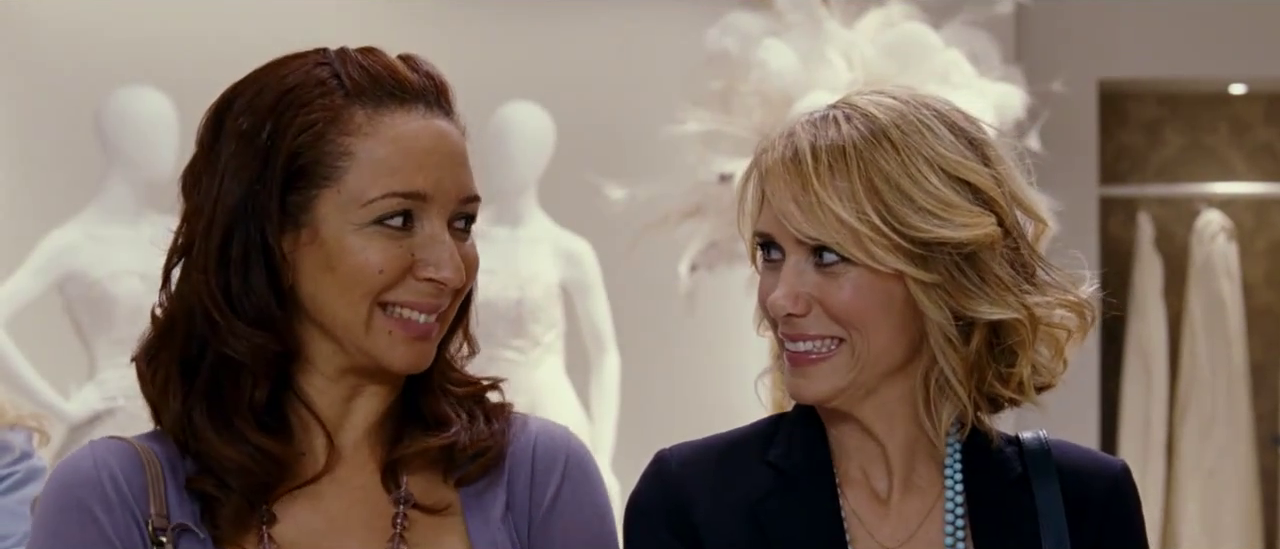 Maya Rudolph and Kristen Wiig in BRIDESMAIDS (2011) © Universal Pictures