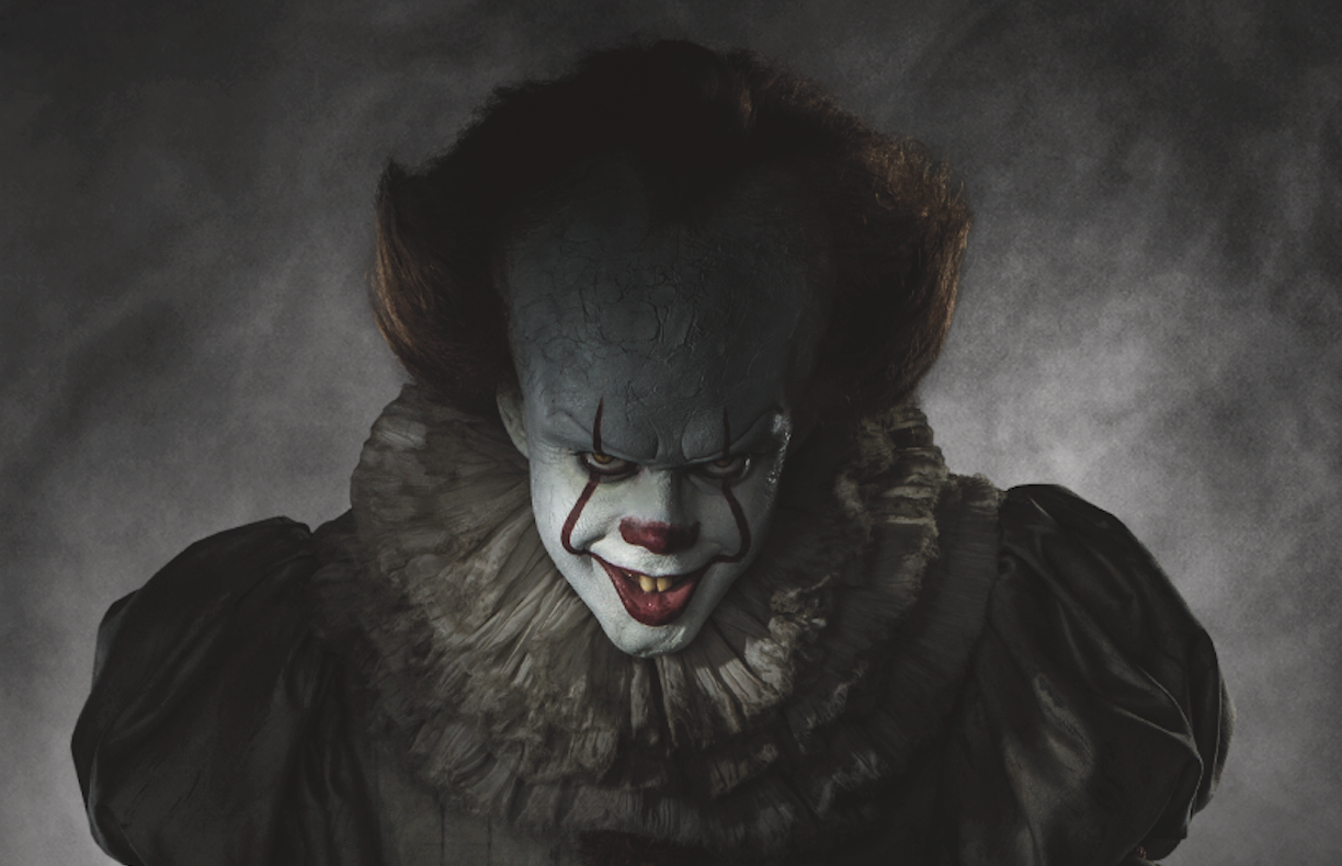 Bill Skarsgård as Pennywise in IT (2017) © New Line Cinema