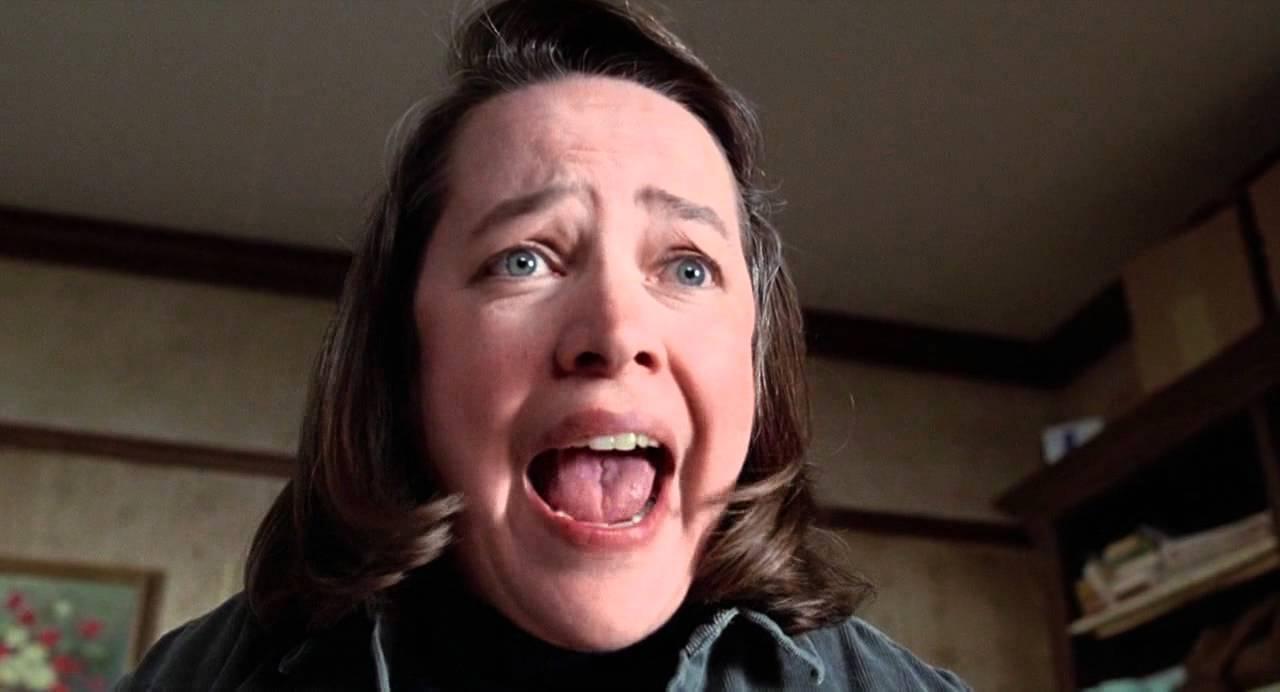Kathy Bates stars in MISERY (1990) © Castle Rock Entertainment