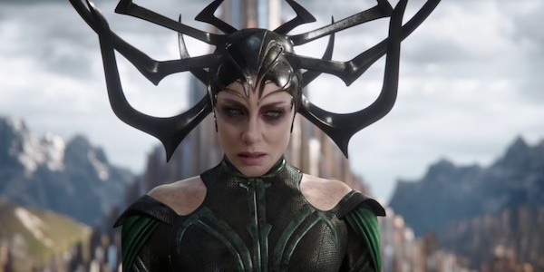 Cate Blanchett as Hela in THOR RAGNAROK (2017) © Marvel Studios