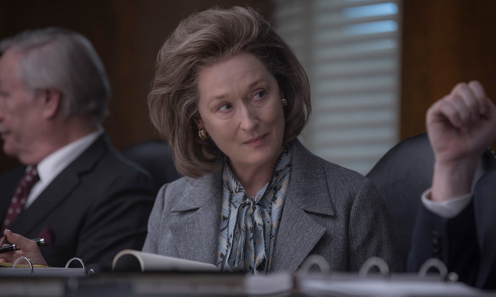 Meryl Streep in THE POST (2018) © Amblin Entertainment