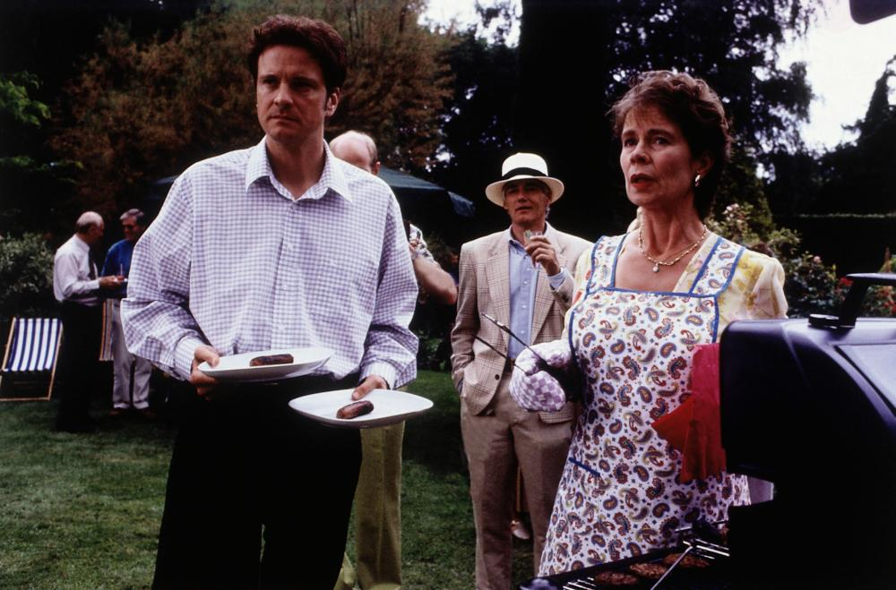 BRIDGET JONES'S DIARY, front from left: Colin Firth, Celia Imrie, 2001, © Miramax