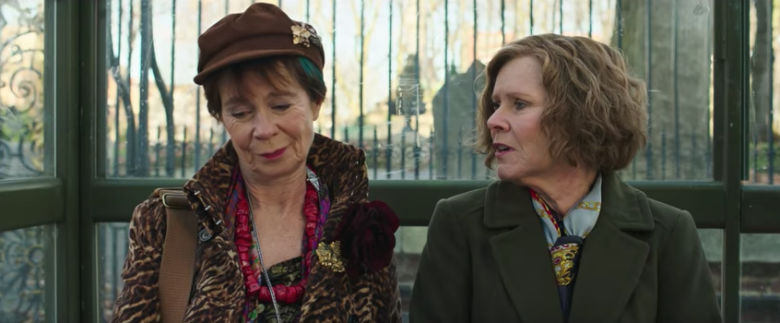 Celia Imrie and Imelda Staunton in FINDING YOUR FEET (2017) © Eclipse Films